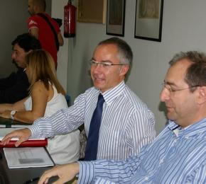 El director de Energía y Minas se reunió en Folgoso con el Instituto del Carbón