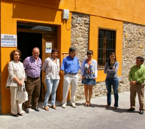 La asociación ya cuenta con las nuevas dependencias en las escuelas del Palacio