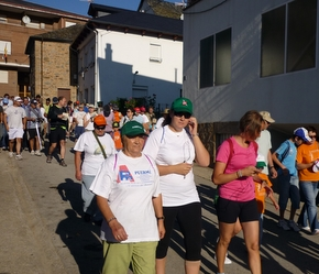 Los asistentes iniciaron la marcha a las 9 de la mañana