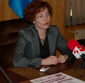 La concejala, Nancy Prada. durante una convocatoria reciente