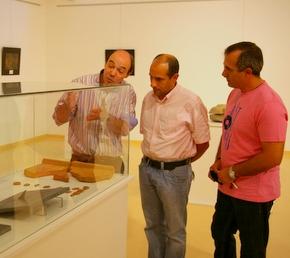 Rogelio Meléndez, con Jesús Celemín y Juan Rincón de Aragonito Azul
