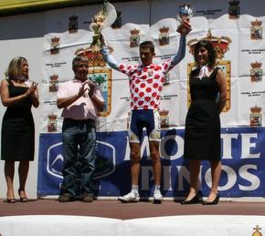 Roberto Méndez sube al podio en Soria con la general de Montaña