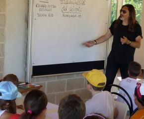 Los más jóvenes participaron en el taller de cómic