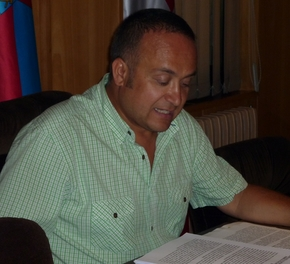 El portavoz municipal, en rueda de prensa