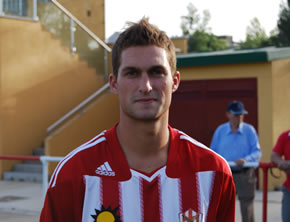Borja marcó el gol del empate y participó en el segundo