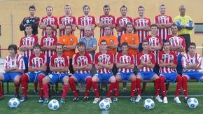 Plantilla del Atlético Bembibre para la temporada 2009-20010