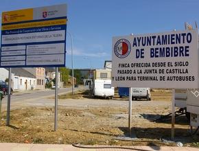 El cartel que ha colocado el Ayuntamiento en el paseo del Vaguillo