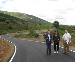 La nueva carretera presenta un importante cambio