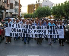 La manifestación se inició en la plaza Santa Bárbara