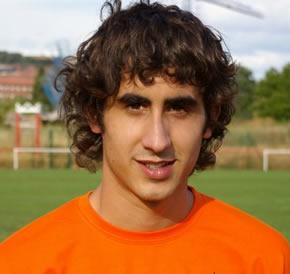 Lander debutó en tercera división con el Atlético Bembibre