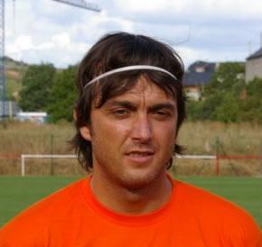 César Villafañe. Autor del gol del Atlético Bembibre