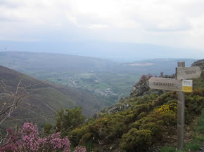Valle de Noceda desde la Sierra de Gistreo (Foto PDG)