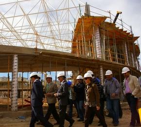 El proyecto avanza de forma notoria para concluir el 31 de diciembre