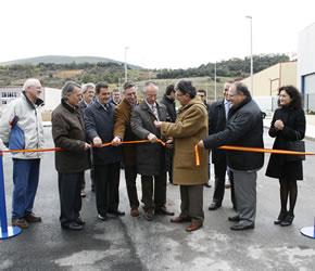 Inauguración de la sexta fase del Parque Industrial del Bierzo Alto