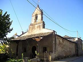 La Ermita del Santocristo de la Peralona en mal estado antes del derribo