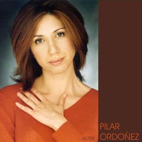 Pilar Ordóñez. Fotografía de su web personal