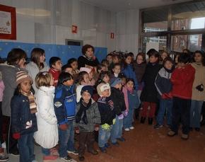 Los niños que participaron en el Belén