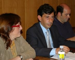Concejales del Grupo Popular en el Ayuntamiento de Bembibre con Jaime González al frente