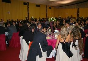 Una imagen de la cena de gala