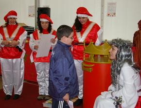 El Hada escuchaba lo que los niños piden a los Reyes