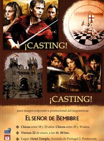 Cartel del casting para la película