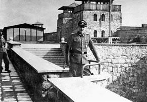 Coronel Franz Ziereis, comandante de Mauthausen