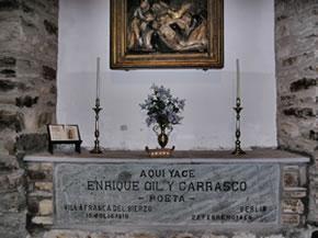 Tumba de Gil y Carrasco en Villafranca