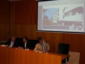Imagen de la presentación de las viviendas colectivas