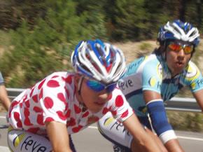 Roberto Méndez y Luis Moreno en la Vuelta a Soria 2009