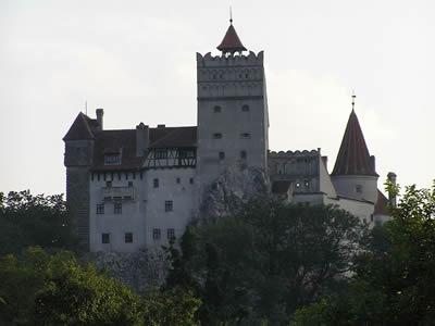 Castillo de Bran. En él se cree que se inspiró Bram Stoker para el castillo de Drácula