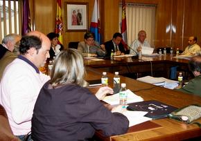 Imagen de la sesión plenaria de este lunes