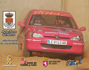 Extracto del cartel anunciador del Rallysprint de Santa Cruz