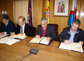 Los municipios del Bierzo firmaron el convenio el 14 de abril