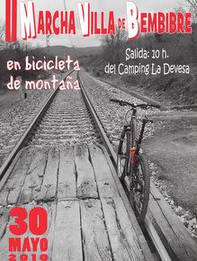 Cartel anunciador de la marcha