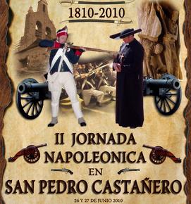 Cartel que ilustra las segundas Jornadas Napoleónicas