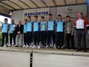 El equipo del FEVE Bembibre consiguió el segundo puesto