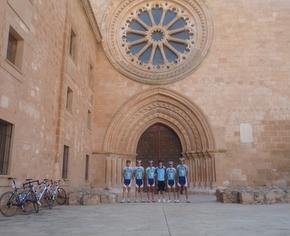 El equipo volvió a hacer una buena carrera en Soria