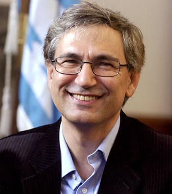 El escritor turco Orhan Pamuk