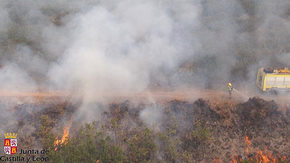 Imagen de archivo de los servicios de extinción de incendios