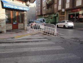 Imagen de uno de los socavones. Foto: Partido Popular