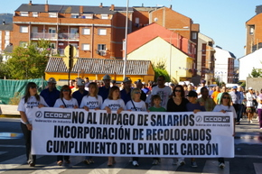 Bembibre ha visto dos manifestaciones en la última semana