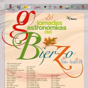 Cartel de las 26 Jornadas Gastronómicas