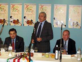 José Ángel Azuara es el mantenedor de las Jornadas Gastronómicas