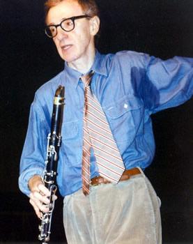 Woody Allen y su inseparable clarinete