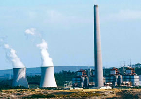 Imagen de una central térmica