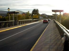 El puente de La Estación, una vez finalizadas las obrs de mejora