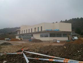 El centro del transporte se encuentra en obras