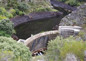 La presa Real en San Facundo