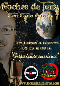 Cano García presenta Noches de Luna