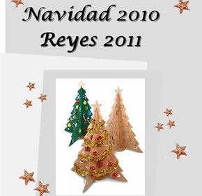 Cartel anunciador de la Navidad en el municipio de Congosto